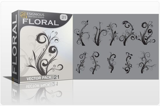 Floral vector pack 21 1