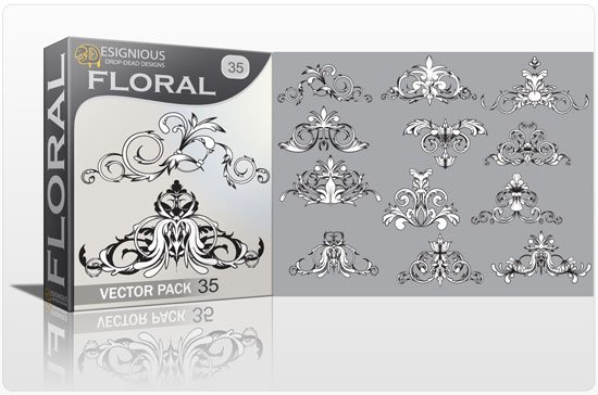 Floral vector pack 35 1