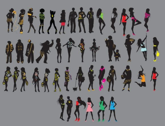 Fashion vector pack 2