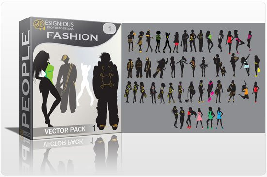 Fashion vector pack 1