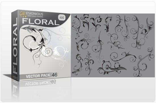 Floral vector pack 44 1