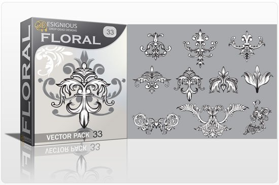 Floral vector pack 33 1