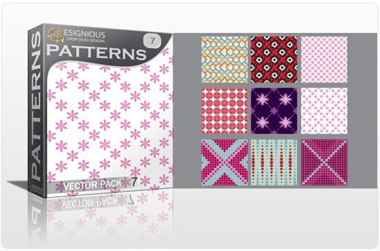 Seamless Patterns vector pack 7 1