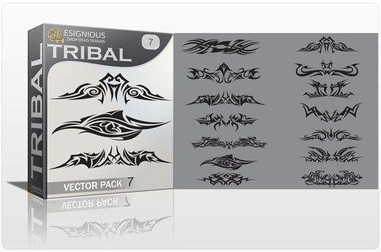 Tribal vector pack 7 1