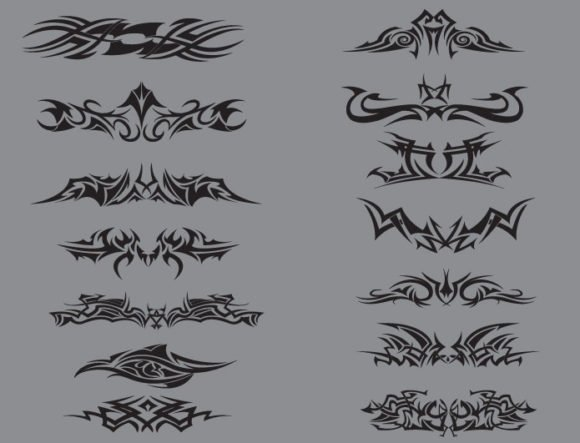 Tribal vector pack 7 2