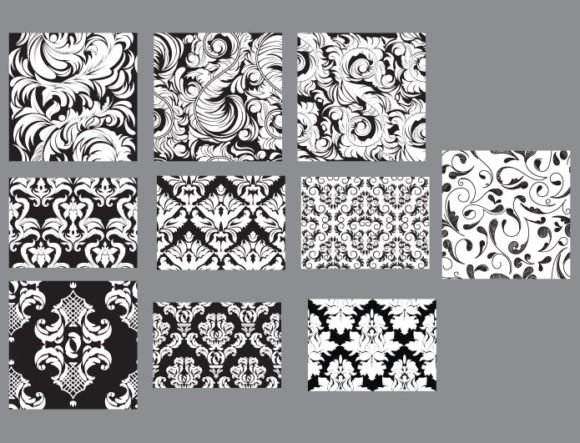 Seamless patterns vector pack 28 2