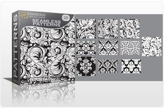 Seamless patterns vector pack 28 1