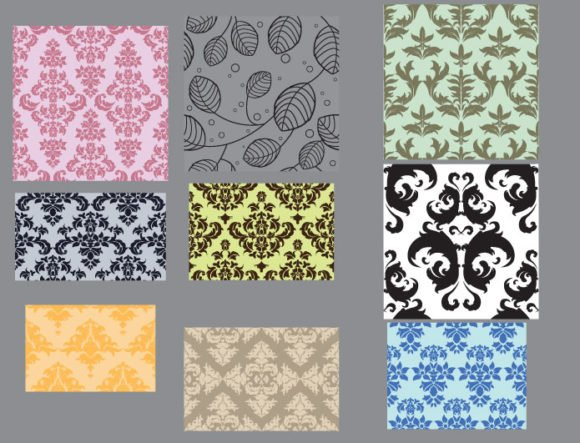 Seamless patterns vector pack 23 2