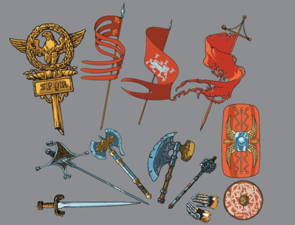 Battle vector pack 2