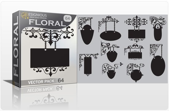 Floral vector pack 64 1