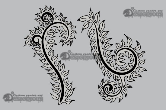 Floral vector pack 10 3