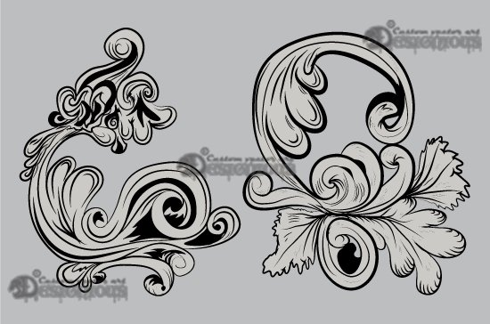 Floral vector pack 15 3