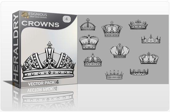 Crowns Vector Pack 4 1