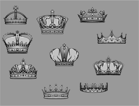 Crowns Vector Pack 4 2