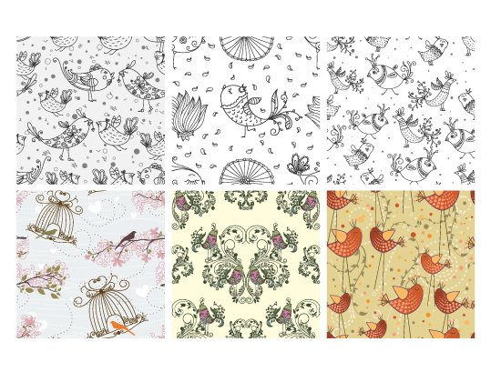 Seamless Patterns Vector Pack 56 2