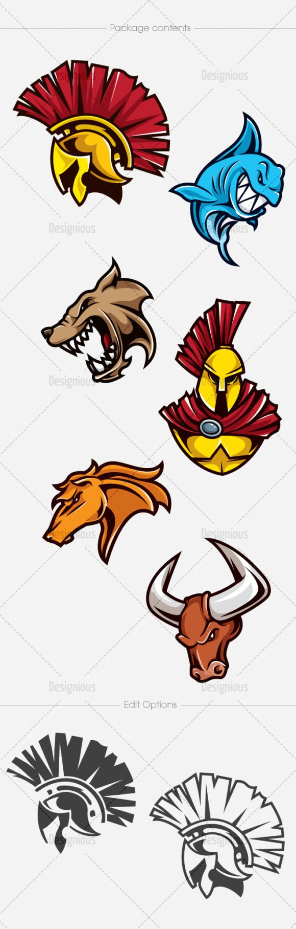 Mascots Vector Pack 8 2