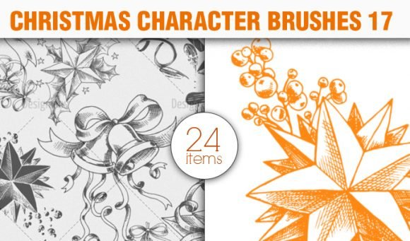 Christmas Brushes Pack 17 1