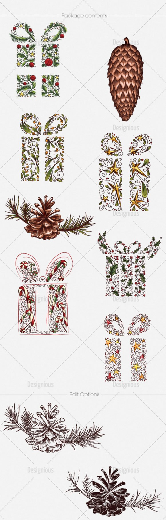 Christmas Vector Pack 20 2