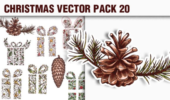 Christmas Vector Pack 20 1