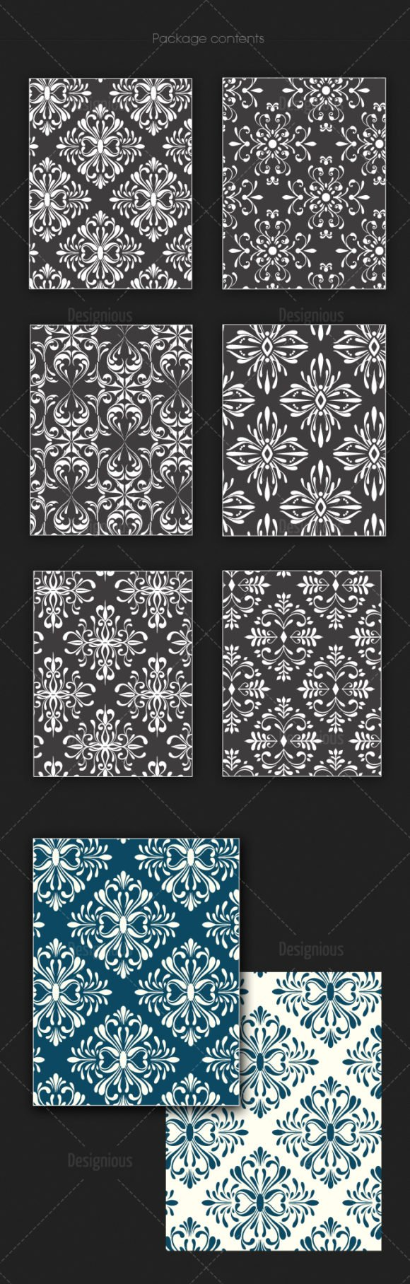 Free Seamless Patterns Vector Pack 127 2