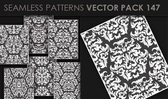 Seamless Patterns Vector Pack 147 1