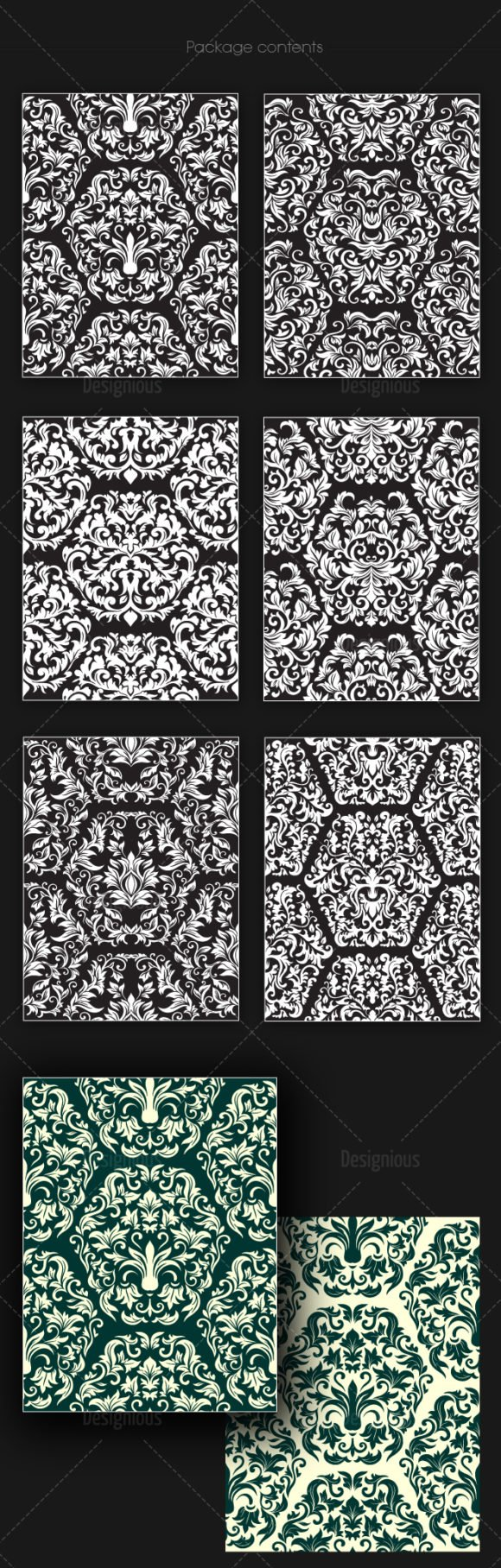 Seamless Patterns Vector Pack 151 2