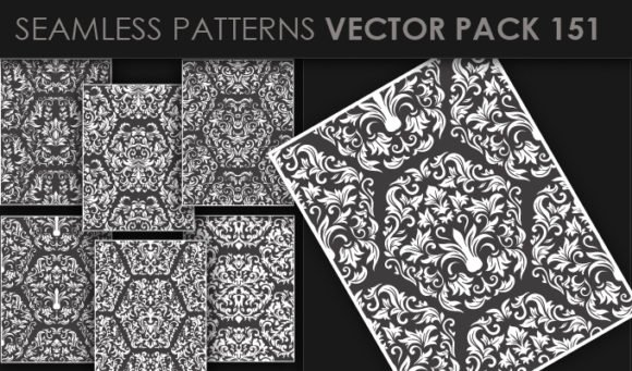 Seamless Patterns Vector Pack 151 1