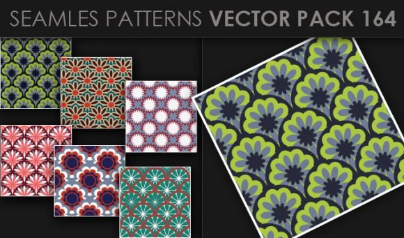 Seamless Patterns Vector Pack 164 1