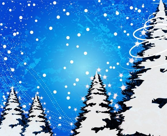 Christmas Vector Design: Christmas Background Vector Design Illustration 1