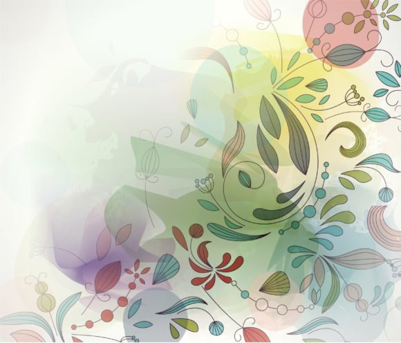 Colorful, Curl, Abstract, Illustration Vector Art Colorful Abstract Background Vector Illustration 1