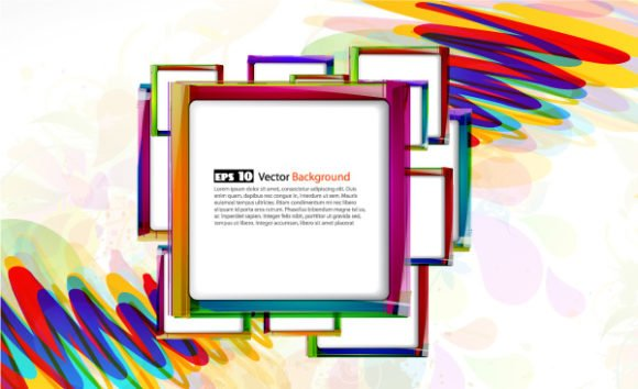 Colorful Vector Art Vector Colorful Abstract Background 1