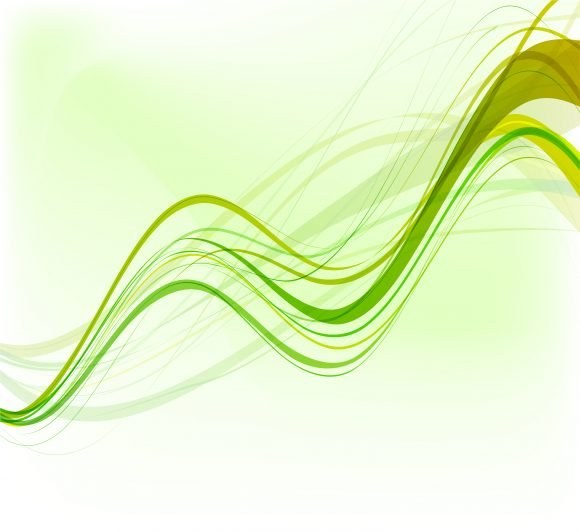 Abstract, Creative, Background, Waves Vector Design Vector Green Abstract Waves Background 1