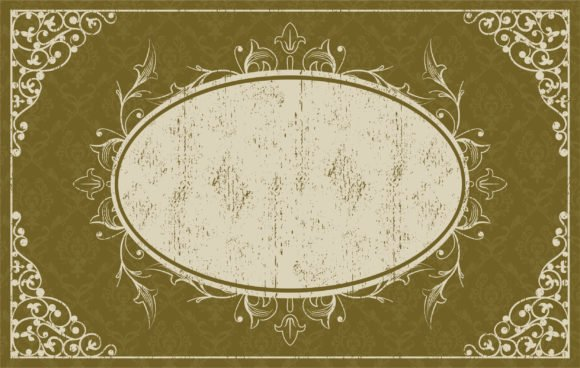 Amazing Vector Eps Vector: Grunge Vintage Frame Eps Vector Illustration 1
