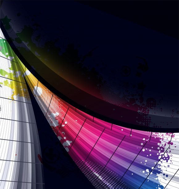 Vector, Style, Colorful Vector Illustration Abstract Colorful Background Vector Illustration 1