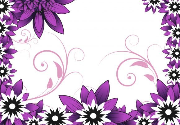 Floral Vector Image Floral Background Vector Ilustration 1
