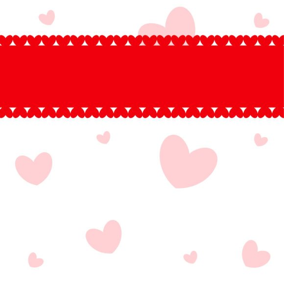 Unique With Vector Illustration: Vector Illustration Valentine Background With Hearts 1