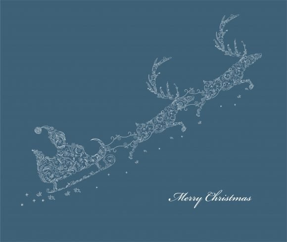 New Christmas Vector Background: Christmas Background Vector Background Illustration 1