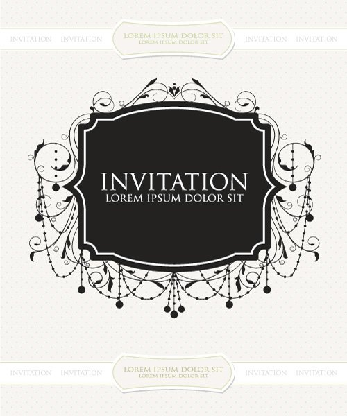 Best Vintage Vector Image: Vintage Label Vector Image Illustration 1