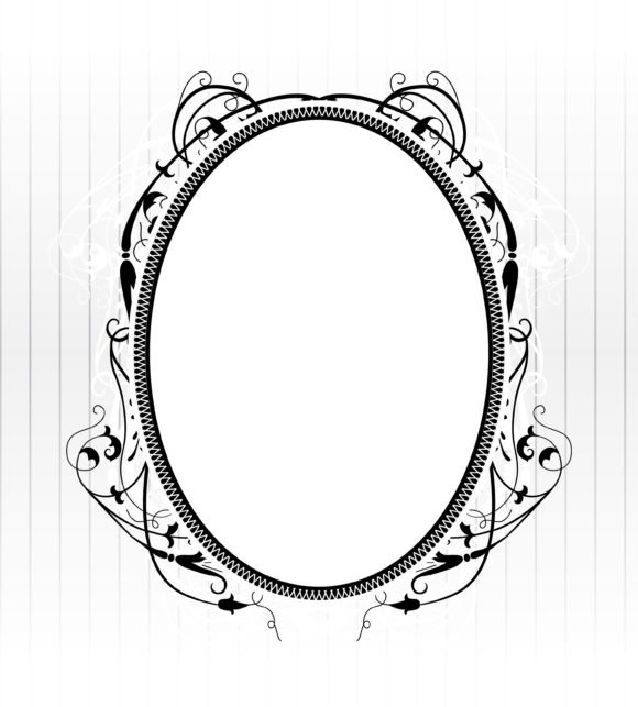 Vintage, With Vector Background Vector Vintage Frame With Floral 1