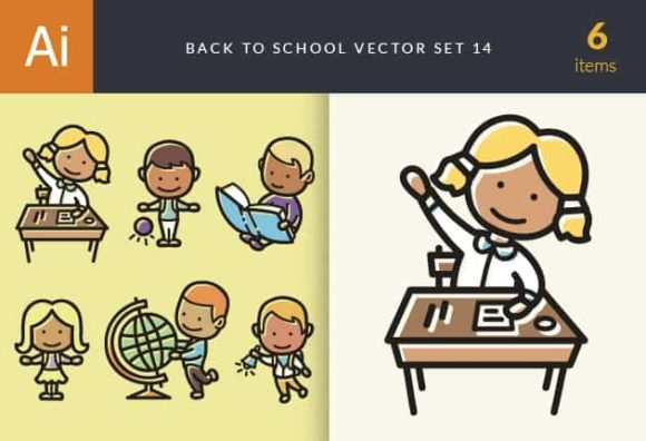 Back To School Vector Set 14 1