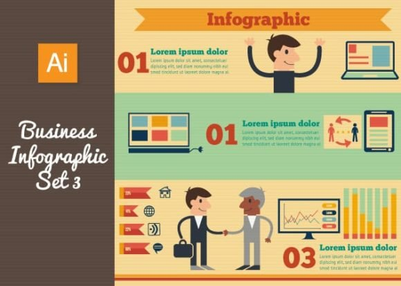 Business Vector Infographics Set 3 1