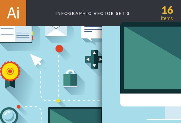 Infographic Vector Set 3 1