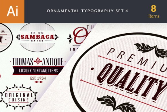 Ornamental Typography 4 1
