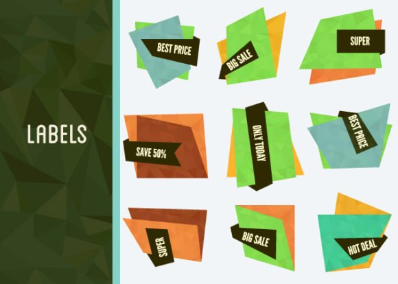 Special Offer Vector Labels And Banners Set 1 1