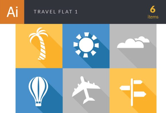 Travel Flat Vector Set 1 1