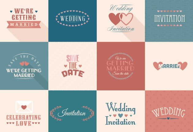 Wedding Vector Elements 4