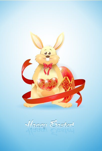 easter background vector illustration 1