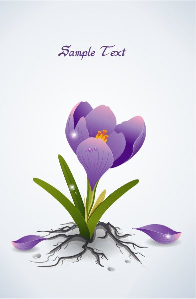 vector spring floral background 1