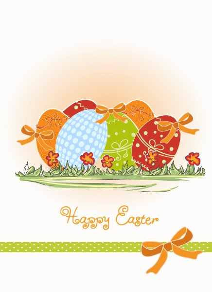 Leaf, Eggs Eps Vector Eggs  Floral Vector Illustration 1