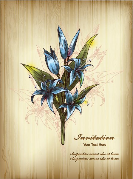 Buy 2013 Vector Image: Floral Background Vector Image Illustration 1
